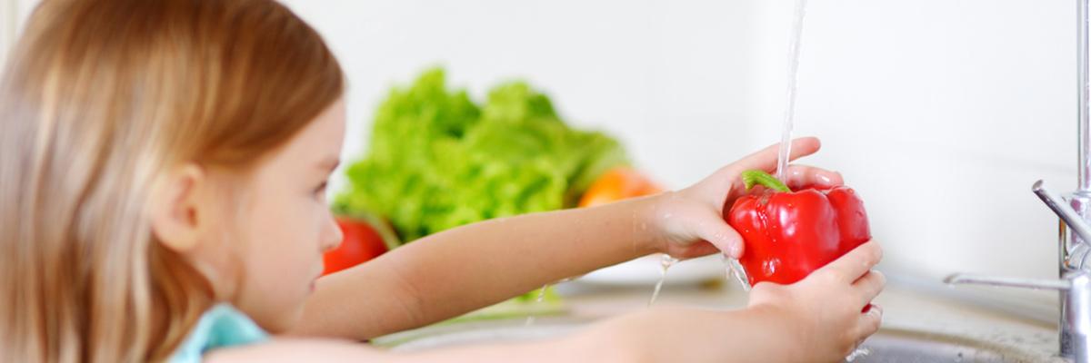野菜洗いの専用水 ベジセーフ